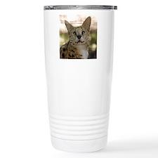serval 017 Travel Coffee Mug