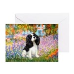 Garden & Tri Cavalie Greeting Cards (Pk of 10)