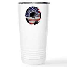 2-ussoccerball Travel Mug