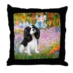 Garden & Tri Cavalie Throw Pillow