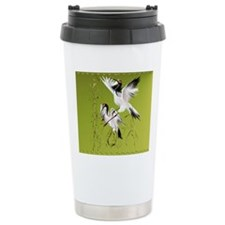 Two Cranes In Bamboo_mp Travel Mug