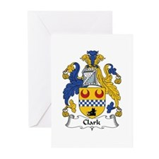 Clark Greeting Cards (Pk of 10)
