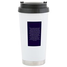 greyschangejournal Stainless Steel Travel Mug