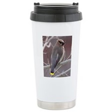 ms waxwing Travel Coffee Mug