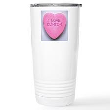 HEART CLINTON Travel Mug