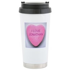 HEART JONATHAN Travel Coffee Mug