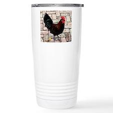 rooster mousepad Travel Mug