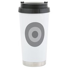 Greece - Ghost Grey Travel Mug