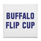 Buffalo Flip Cup Tile Coaster