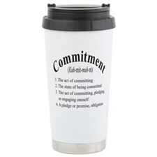 commitment Travel Mug