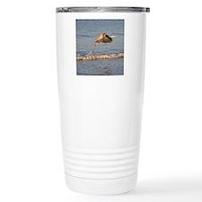 tile_coast_pelican Travel Mug