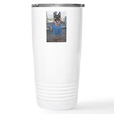 Ginny in Blue Travel Mug