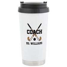 Personalized Field Hockey Coach Travel Mug