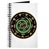 Ethnic Spiral Design Journal