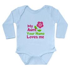 Funny Loves Long Sleeve Infant Bodysuit