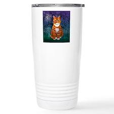 Orange Tabby Cat Travel Mug