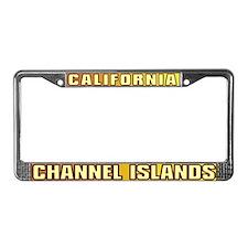 Channel Islands  License Plate Frame