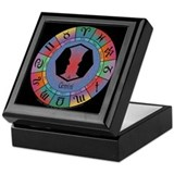 Gemini the Twins Keepsake Box