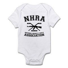 National hockey and rifle assn Infant Bodysuit