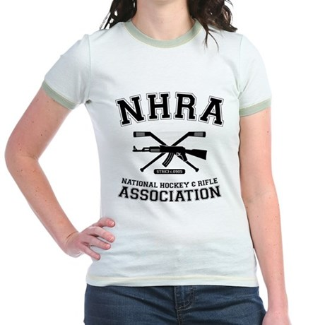National hockey and rifle assn Jr. Ringer T-Shirt