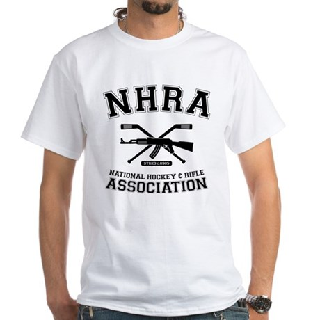 National hockey and rifle assn White T-Shirt