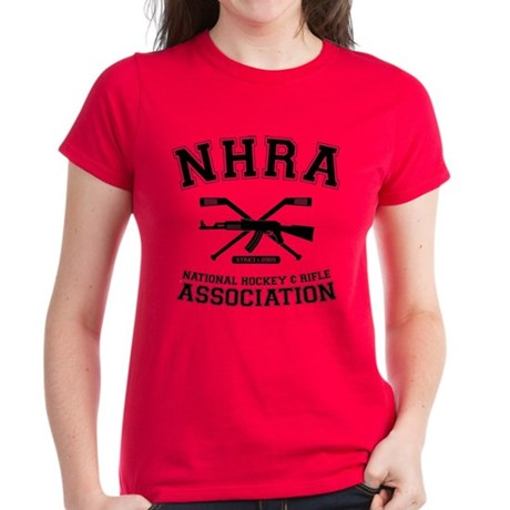 National hockey and rifle assn Women's Dark T-Shir