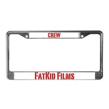 Funny Film License Plate Frame