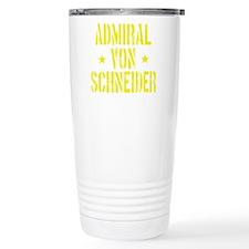Admiral von Schneider Travel Mug