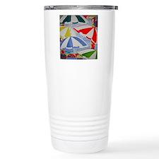 Beach Umbrellas Travel Mug