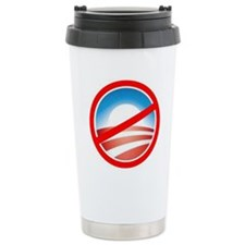 No Obama Travel Mug