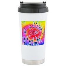 Ecstasy drug molecule Travel Mug