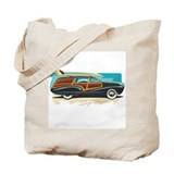 Surf Wagon Woody Tote Bag
