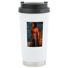 Model of a male Homo er Travel Mug