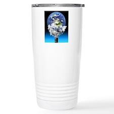Global warming, concept Travel Mug