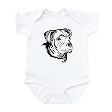 American Pit Bull Terrier Infant Bodysuit