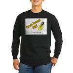 Indiana Cicada Long Sleeve Dark T-Shirt