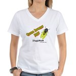 Indiana Cicada Women's V-Neck T-Shirt