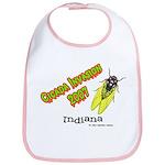 Indiana Cicada Bib