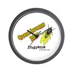 Indiana Cicada Wall Clock