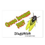 Indiana Cicada Postcards (Package of 8)