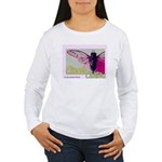 Cicada S Couture Women's Long Sleeve T-Shirt