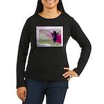 Cicada S Couture Women's Long Sleeve Dark T-Shirt
