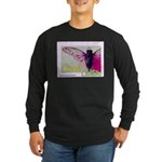 Cicada S Couture Long Sleeve Dark T-Shirt