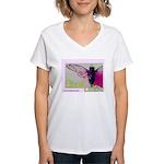 Cicada S Couture Women's V-Neck T-Shirt