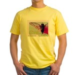 Cicada S Couture Yellow T-Shirt