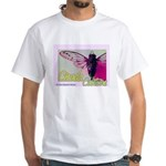 Cicada S Couture White T-Shirt