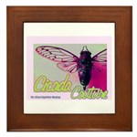 Cicada S Couture Framed Tile