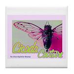 Cicada S Couture Tile Coaster