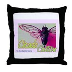 Cicada S Couture Throw Pillow