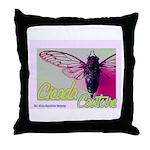 Cicada S Couture Throw Pillow